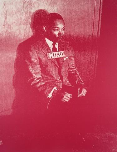 , 'MLK Jr. Original (Rust and Light Green),' 2005, Long-Sharp Gallery