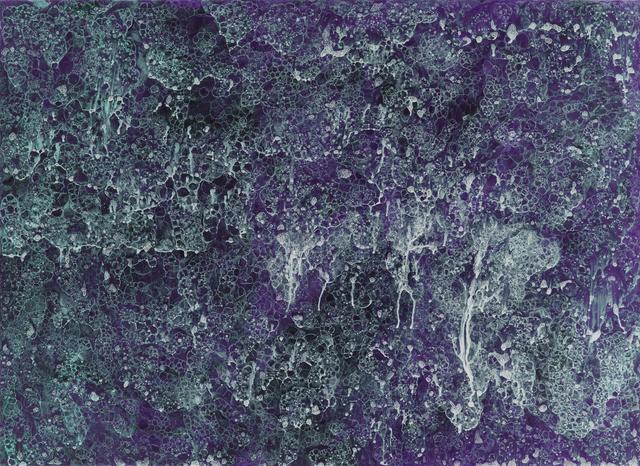 , 'Ultramarine Wall,' 2016, Galerie Andrea Caratsch