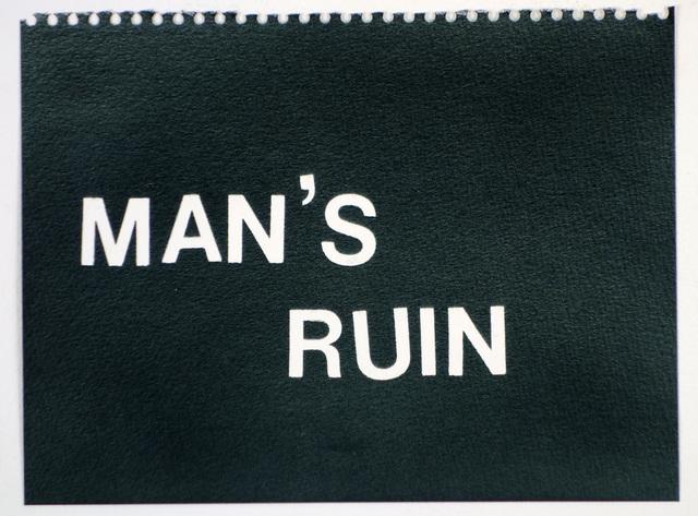 , 'Man's Ruin (black),' , Rodolphe Janssen