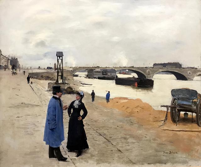 , 'Le Pont de Bercy,' ca. 1880, MacConnal-Mason Gallery