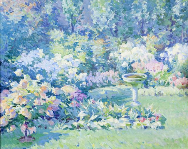 Mabel Woodward, 'Flower Garden', 1910, Montclair Art Museum