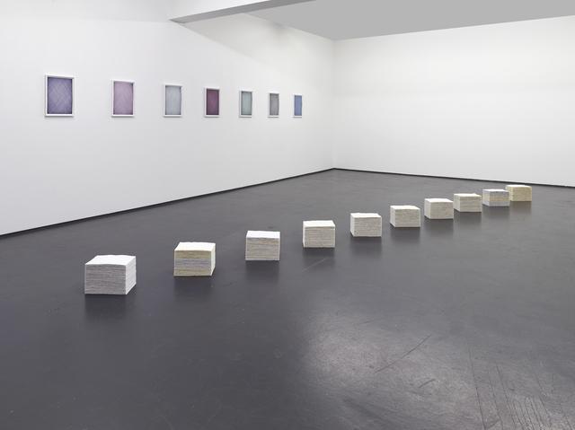 , 'Thirds,' 2016, Philipp von Rosen Galerie