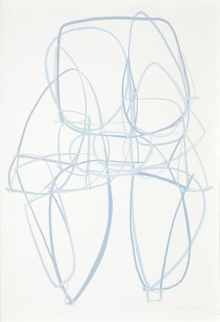 , 'Pallas Blue 1 (Framed in white),' 2016, SILAS VON MORISSE gallery