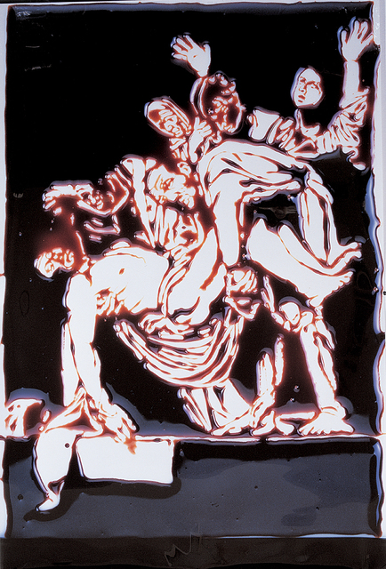 , 'The Descent from the Cross (After Caravaggio),' 2000, Phoenix Art Museum