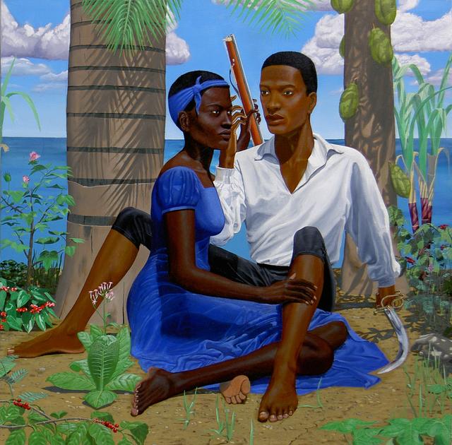, 'Charles and Sanite Belair,' 2004, Ed Cross Fine Art