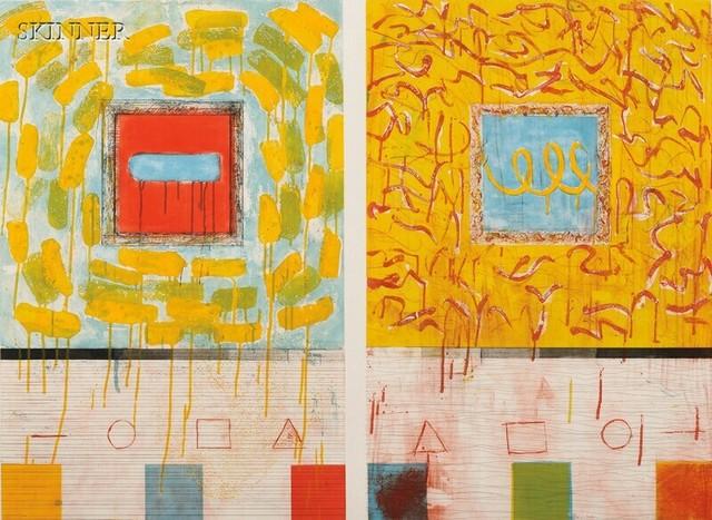 Pat Steir, 'When I Think of Venice', 1980, Posner Fine Art