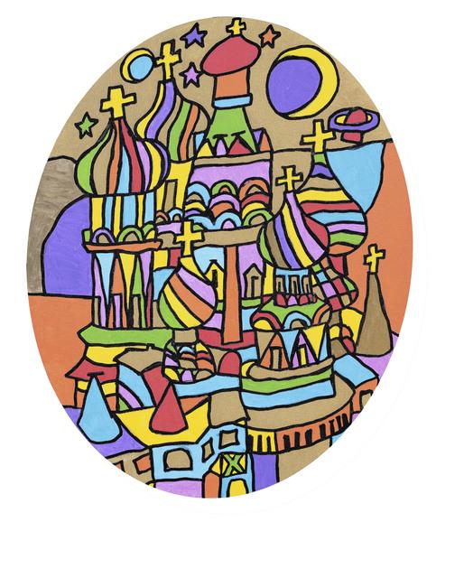 Leland Lee, 'Starry Night in Moscow', 2012, Artrue Gallery