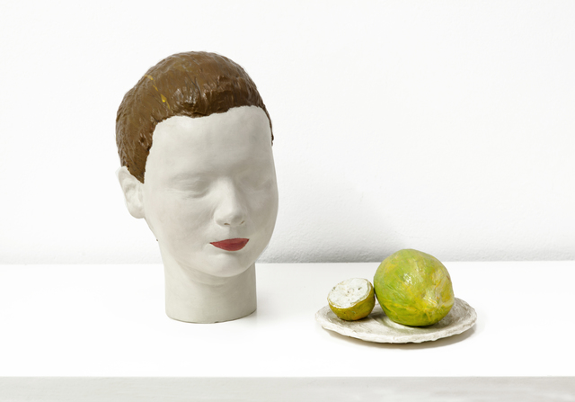 , 'Volumetric Portait of a Young Girl Who Had Just Washed her Face with Lemon Juice,' 1998, Cosmocosa