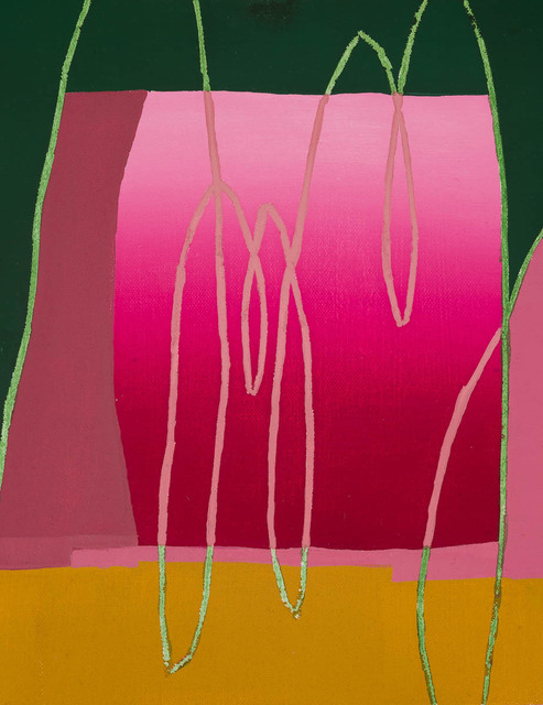 Morgan Ward, '3515 CP', 2017, Painting, Oil and acrylic wash on canvas and board, Candida Stevens Gallery