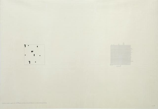 , 'Mille  (32x32-24 o 31x31+39),' 1975, Dep Art