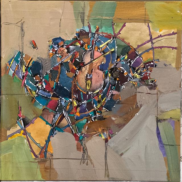 , 'Players: Barbed Wheel,' 2015, ANNO DOMINI