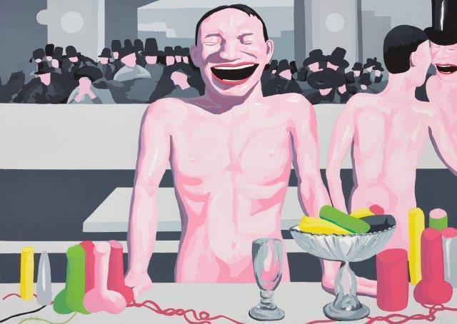 Yue Minjun, 'You're so Manet', 2001, Roseberys