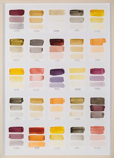 , 'Carta de Color I,' 2015, Galería de la Oficina