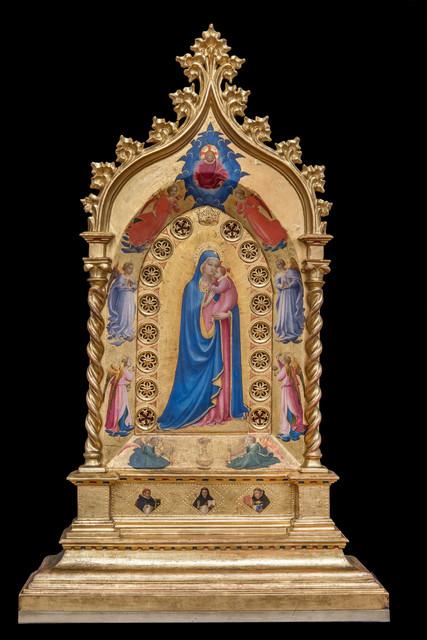 , 'Madonna delle Stelle (Virgin and Child with Angels),' 1424-1434, Isabella Stewart Gardner Museum