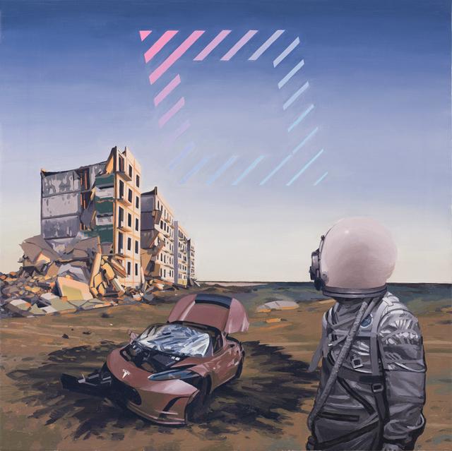, 'Tesla,' 2018, Spoke Art