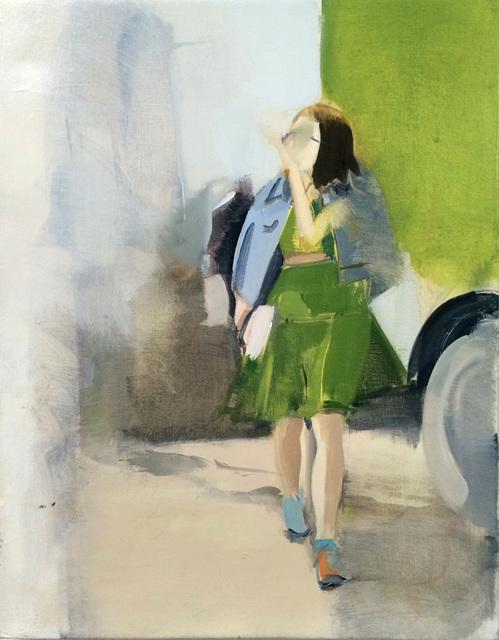 , 'Green Dress,' 2015, Zolla/Lieberman Gallery