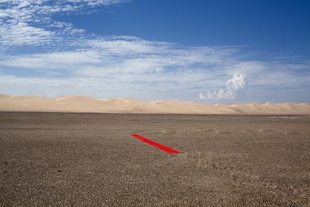 , 'Red line in Namibia,' 2013, Patricia Conde Galería