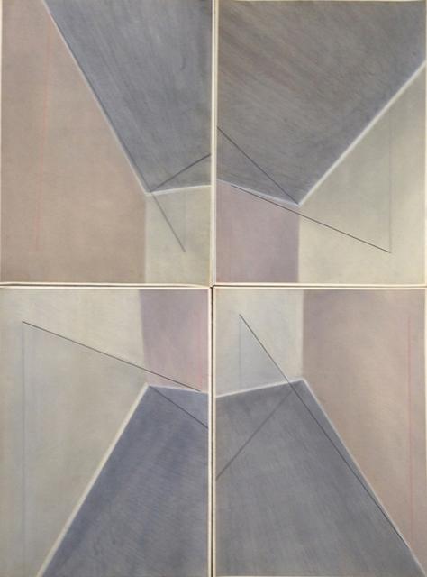 , 'Os quatro cantos 1, 2, 3, 4,' 1976, Galeria Jaqueline Martins