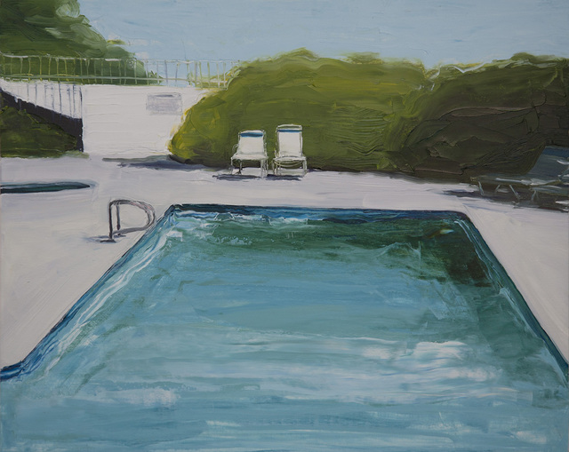 , 'Poolside Chairs,' 2016, Linda Hodges Gallery