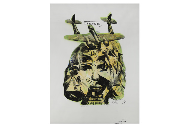 Bäst, 'Und Erotik', 2007, Print, Hand painted screenprint on paper, Chiswick Auctions