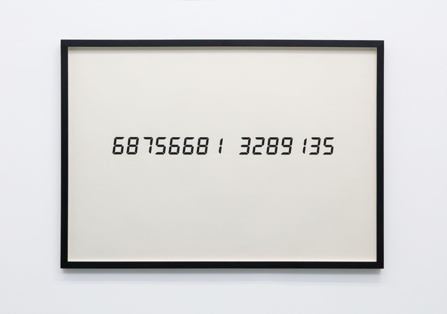 Tatsuo Miyajima, 'Life Face Vol. 3 6875668...', 1991, Gallery Baton