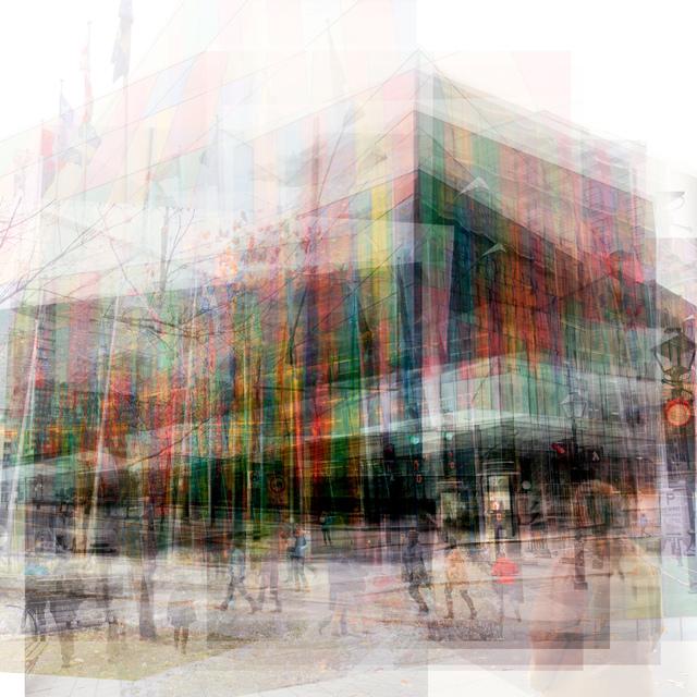 , 'Palais De Congress,' 2016, Lustre Contemporary