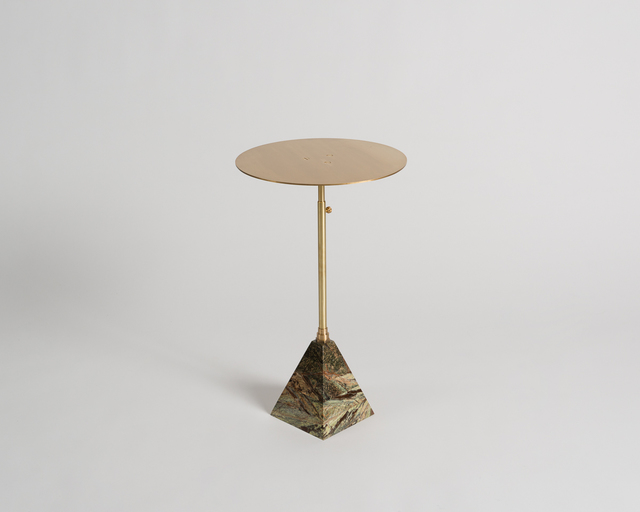 , 'Cocktail Table with Telescopic Post,' 2016, Maison Gerard