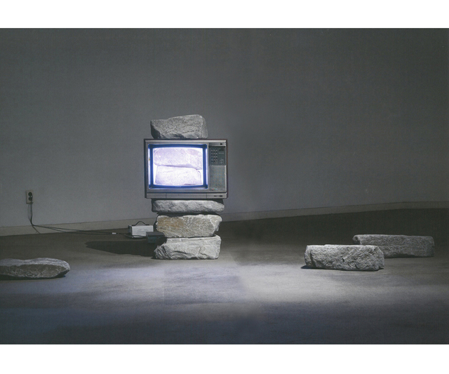 , 'TV Stone Tower,' 1982, Gallery Hyundai