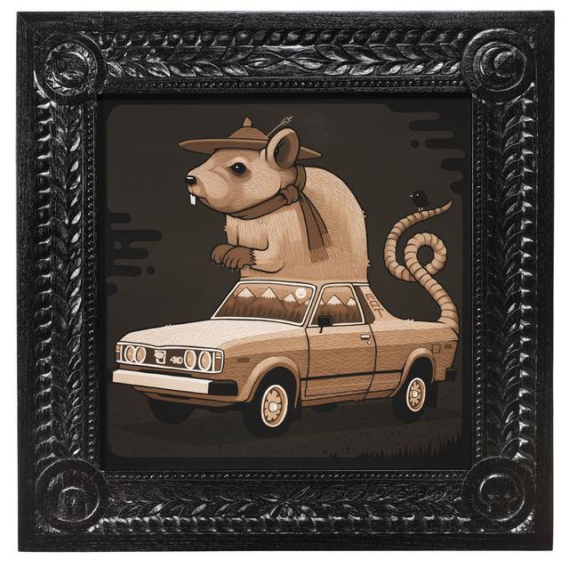 , '1980 Subaru Rat,' 2017, Jonathan LeVine Projects