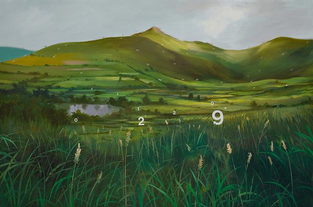 , 'Protracted Landscape no. 9,' 2015, Lazinc