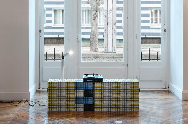 , 'DB/S 9 (detail),' 2016, Galerie Allen