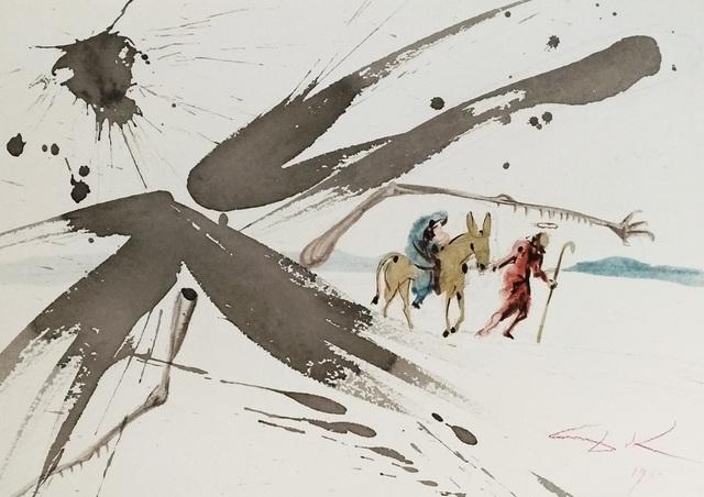 """Salvador Dalí, 'Ex Aegypto vocavi filium meum - From """"Biblia Sacra""""', 1964, Wallector"""