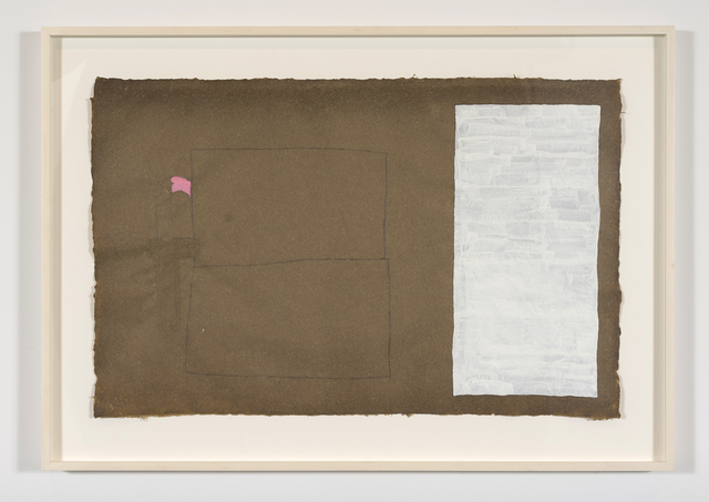 Cyrilla Mozenter, 'f in pink', 2014, Lesley Heller Gallery
