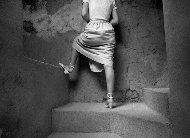 , 'Subida al sobrao,' 1980, Blanca Berlín