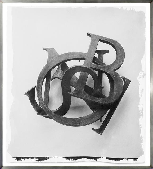 , 'Letters,' 2000, HackelBury Fine Art