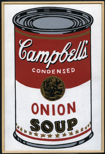 , 'Andy Warhol, 'Large Campbell's Soup Can, Onion,' 1964,' 2008 – 2009, Castelli Gallery