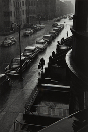 Man in Rain, W. 88th St., N.Y.C.