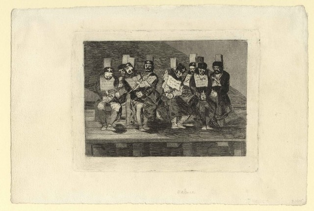 , 'No se puede saber por qué – One can't tell why,' ca. 1808–1814, Harris Schrank Fine Prints