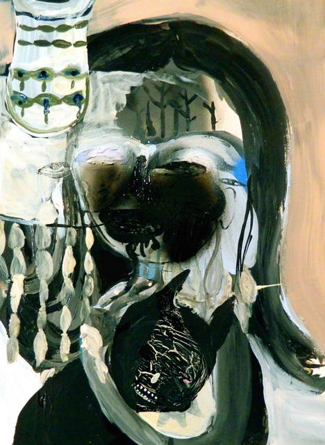 , 'Mother with Son Insane,' 2015, Robert Kananaj Gallery