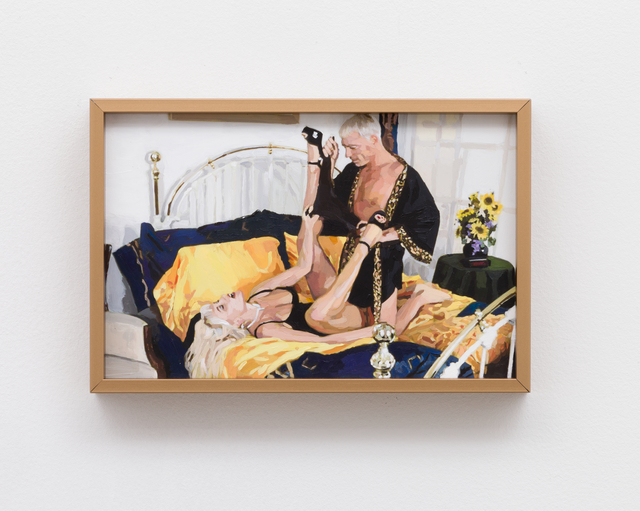 , 'The Golden Age: Untitled (Couple with Sunflowers),' 2013, Meliksetian | Briggs