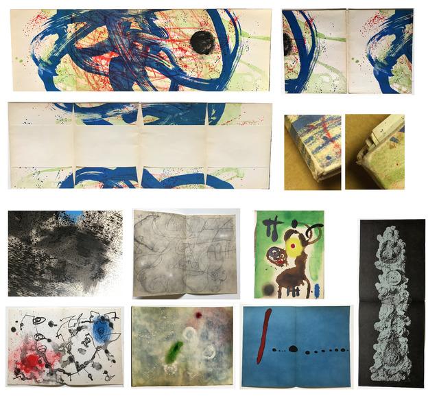 "Joan Miró, '""Joan Miro 1959-1960"", Folio of Lithographs Pochoir, Pierre Matisse Gallery, ', 1961, VINCE fine arts/ephemera"