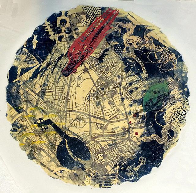 Yvette Drury Dubinsky, ' Aleppo Is Gone ', 2015, Bruno David Gallery & Bruno David Projects