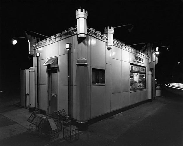 , 'White Castle, Route #1, Rahway, New Jersey,' 1973, Scott Nichols Gallery