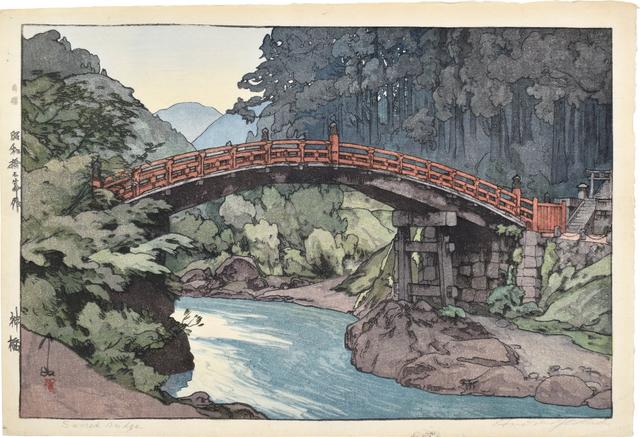 Yoshida Hiroshi, 'Sacred Bridge', 1937, Scholten Japanese Art