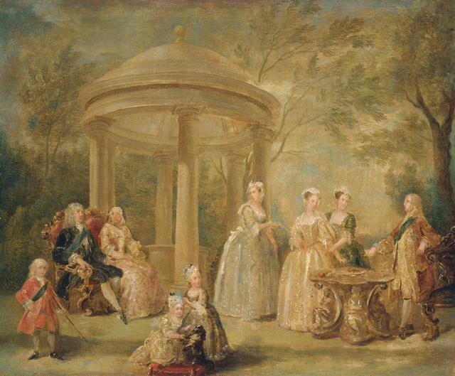, 'The Family of George II,' ca. 1731-1732, Royal Collection Trust