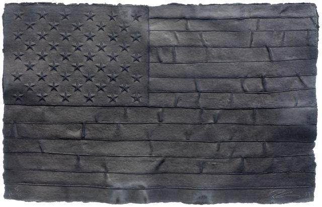 Robert Longo, 'Black Flag', 1999, Koller Auctions