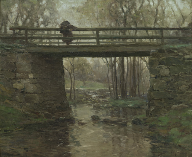 Chauncey Foster Ryder, 'Rowley Brook, Massachusetts', ca. 1910, Painting, Oil on canvas, Vose Galleries
