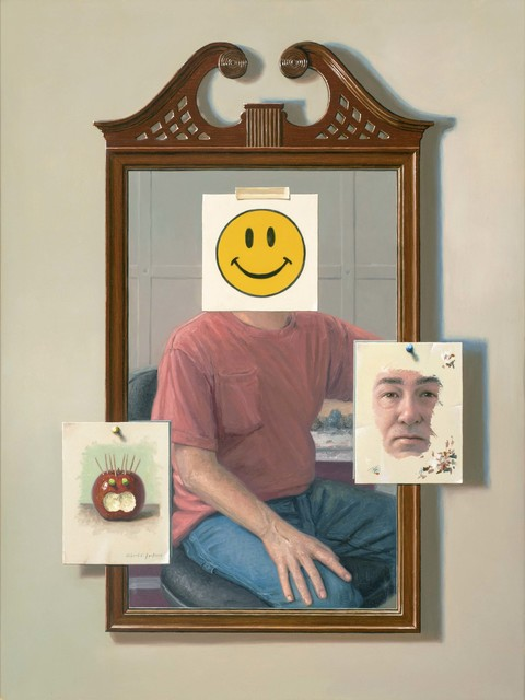 , 'Putting on a Happy Face,' 2017, Gallery Henoch