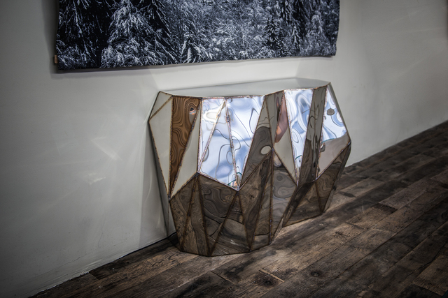 , 'Rough Split Console,' 2017, Armel Soyer