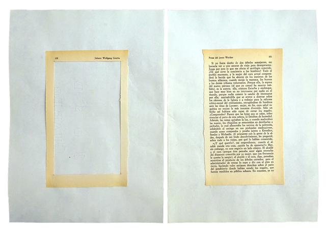 , 'Desplazamiento 2,' 1973, RocioSantaCruz